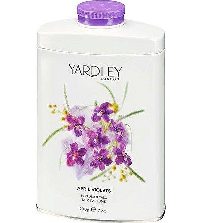 YARDLEY OF LONDON Talco Perfumado April Violets 200g