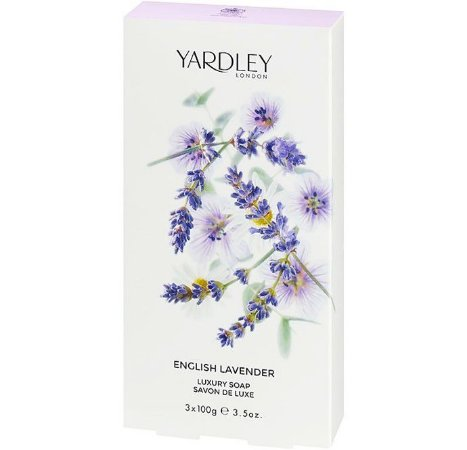 YARDLEY OF LONDON Sabonete Luxuoso English Lavender 3x100g