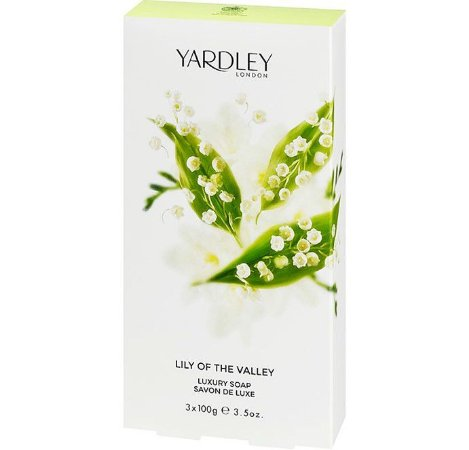 YARDLEY OF LONDON Sabonete Luxuoso Lily of the Valley 3x100g