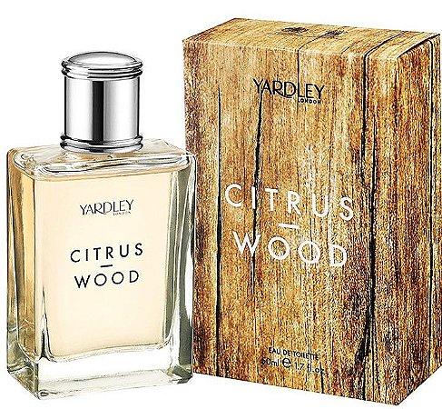 YARDLEY OF LONDON Citrus Wood EAU De Toilette 50ml