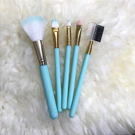REBECCA ACESSÓRIOS Makeup Candy Color Set c/5 Verde