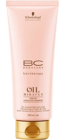 SCHWARZKOPF BC Oil Miracle Rose Oil Shampoo 200ml