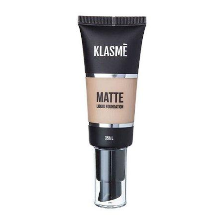 KLASME Matte Liquid Foundation F001