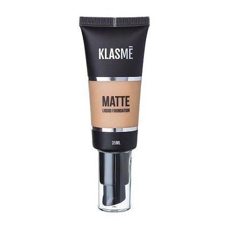 KLASME Matte Liquid Foundation F004