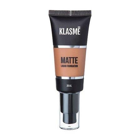 KLASME Matte Liquid Foundation F008