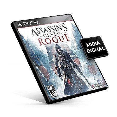 Assassin's Creed Rogue - PS3 Mídia Digital