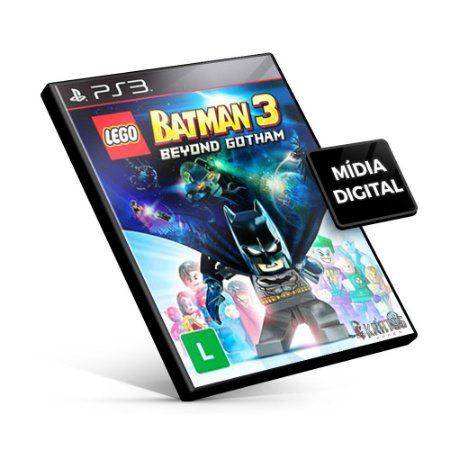Lego Batman 3: Beyond Gotham - PS3 Mídia Digital