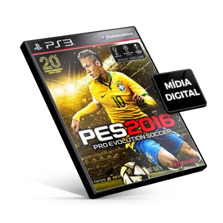 PES Pro Evolution Soccer 2016 - PS3 Mídia Digital