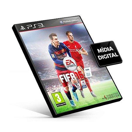 Fifa 16 - PS3 Mídia Digital