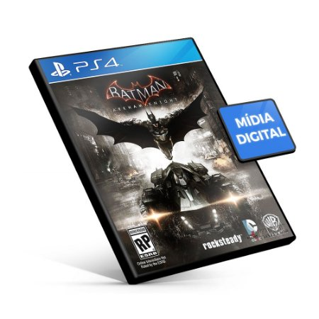 Batman™: Arkham Knight - PS4 Mídia Digital