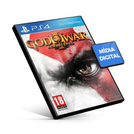 God Of War III Remasterizado - PS4 Mídia Digital
