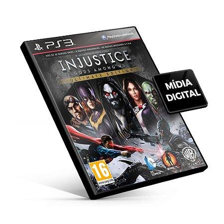 Injustice: Gods Among Us Ultimate Edition - PS3 Mídia Digital