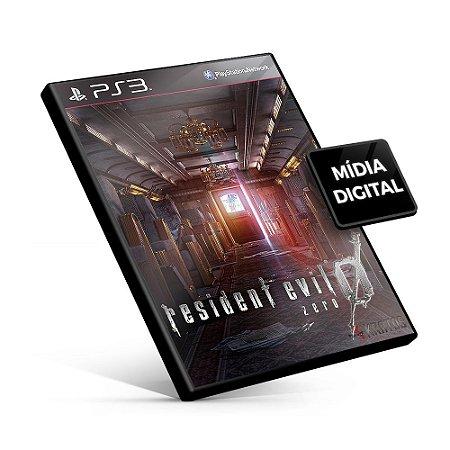 Resident Evil Zero - PS3 Mídia Digital