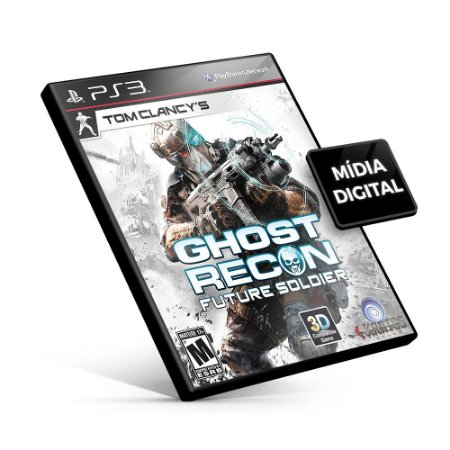Tom Clancy's Ghost Recon: Future Soldier - PS3 Mídia Digital
