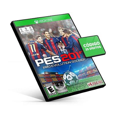 PES Pro Evolution Soccer 2017 - Xbox One - Código 25 Dígitos