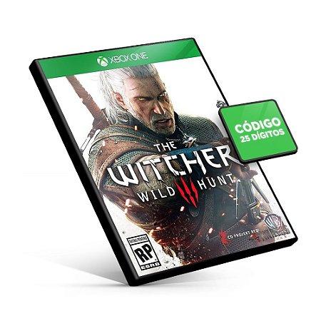 The Witcher 3: Wild Hunt - Xbox One - Código 25 Dígitos