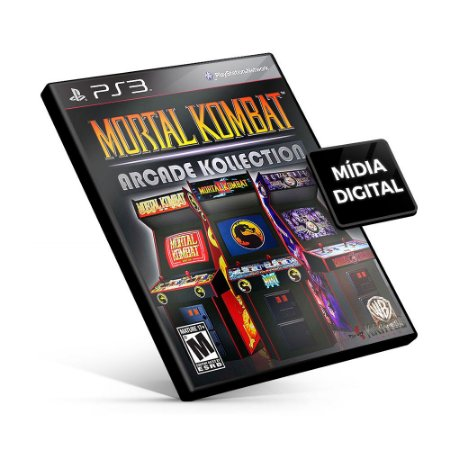 Mortal Kombat Arcade Kollection - PS3 Mídia Digital