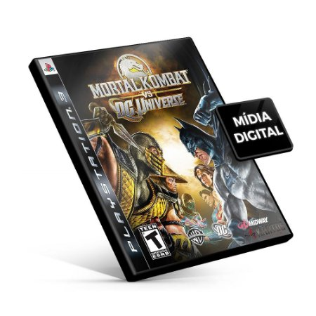 Mortal Kombat vs. DC Universe - PS3 Mídia Digital