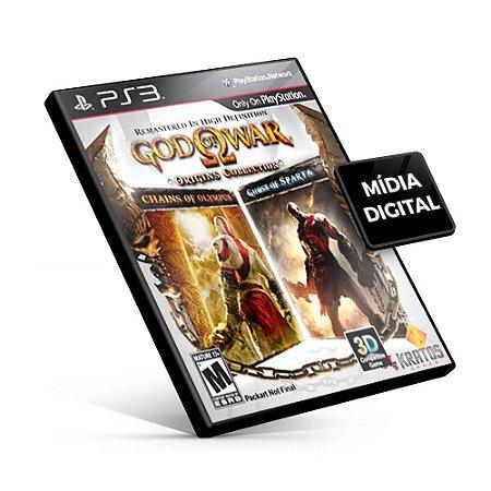 God of War®: Origins Collection - PS3 Mídia Digital