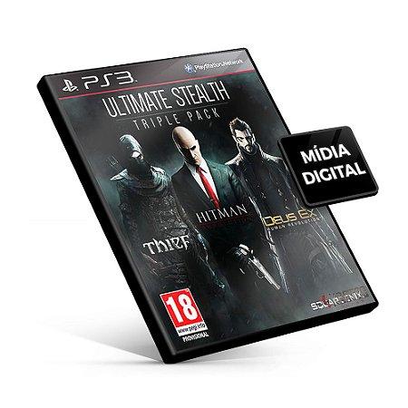Ultimate Stealth Triple Pack - PS3 Mídia Digital