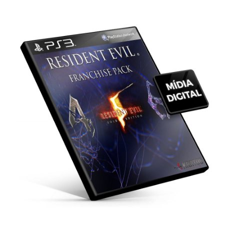 Resident Evil Franchise Pack - PS3 Mídia Digital
