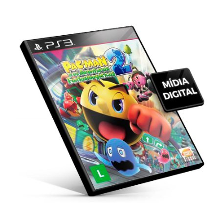 PAC-MAN™ e as Aventuras Fantasmagóricas 2 - PS3 Mídia Digital