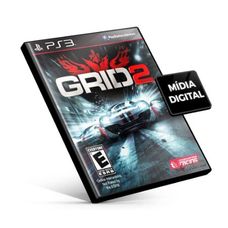 GRID 2 Reloaded - PS3 Mídia Digital