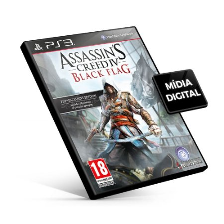 Assassin's Creed® IV Black Flag™ - PS3 Mídia Digital