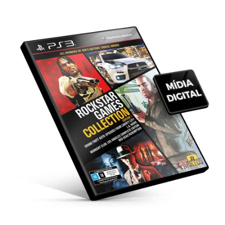 Rockstar Games Collection Edition 1 - PS3 Mídia Digital