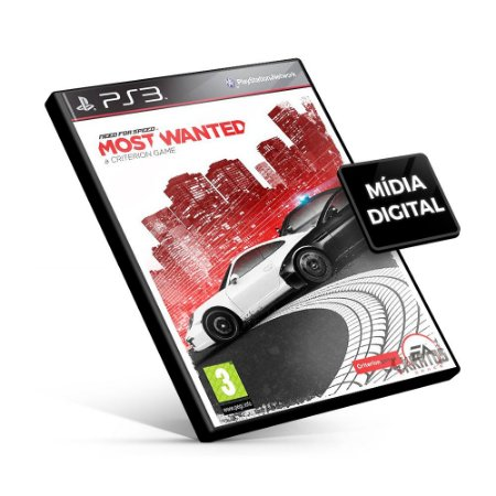 Need for Speed™ Most Wanted - PS3 Mídia Digital