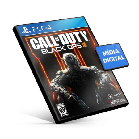 Call Of Duty Black Ops 3 - PS4 Mídia Digital
