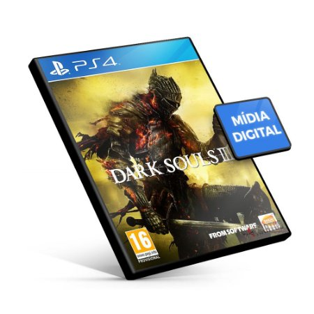Dark Souls III - PS4 Mídia Digital