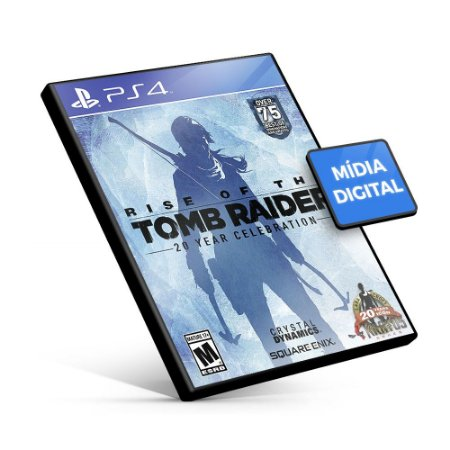 Rise Of The Tomb Raider - PS4 Mídia Digital