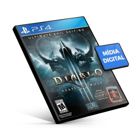 Diablo III Reaper Of Souls Ultimate Evil Edition - PS4 Mídia Digital