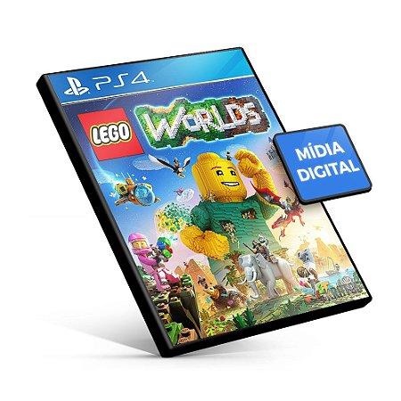 LEGO® Worlds - PS4 Mídia Digital
