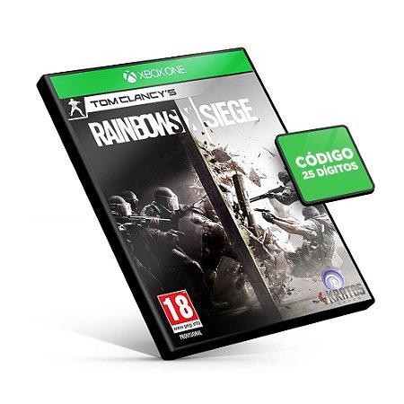 Tom Clancy's Rainbow Six Siege - Xbox One - Código 25 Dígitos