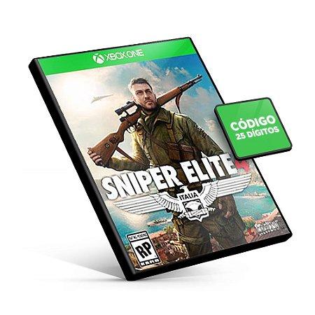 Sniper Elite 4 - Xbox One - Código 25 Dígitos