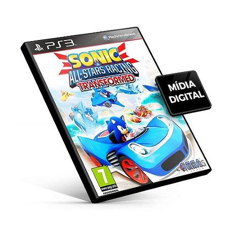 Sonic & All-Stars Racing Transformed - PS3 Mídia Digital