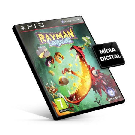 Rayman Legends - PS3 Mídia Digital