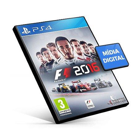 F1 2016 - PS4 Mídia Digital