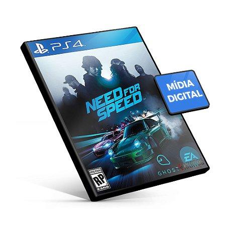 Need for Speed - PS4 Mídia Digital