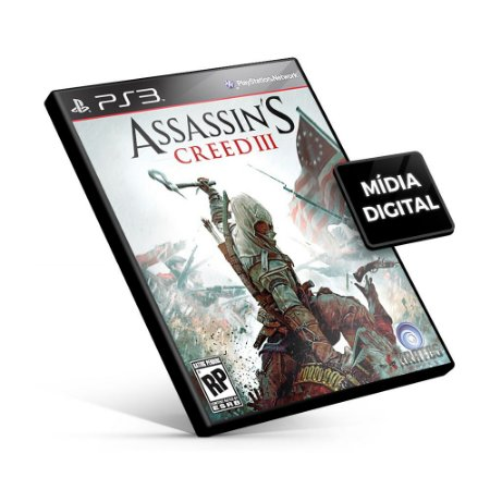 Assassin's Creed® III - PS3 Mídia Digital