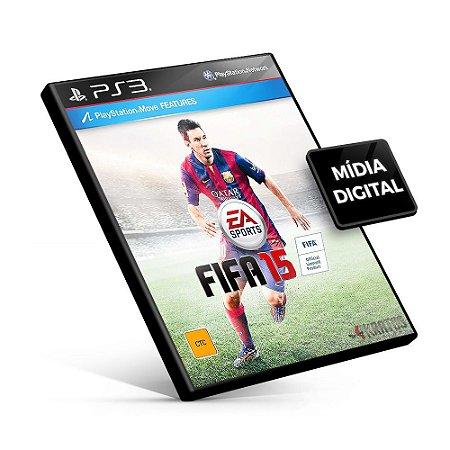 Fifa 15 - PS3 Mídia Digital