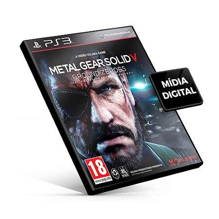 Metal Gear Solid V: Ground Zeroes - PS3 Mídia Digital