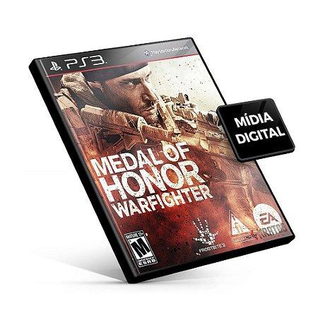 Medal of Honor Warfighter - PS3 Mídia Digital