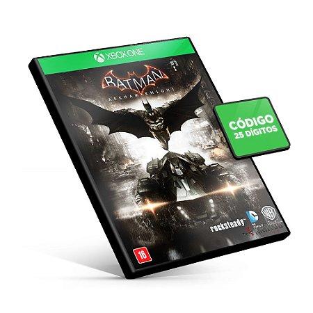 Batman Arkham Knight - Xbox One Código 25 Dígitos