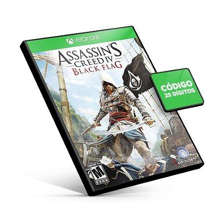 Assassin's Creed IV Black Flag - Xbox One - Código 25 Dígitos