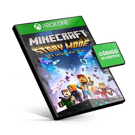 Minecraft Story Mode - The Complete Season - Xbox One - Código 25 Dígitos