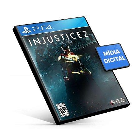 Injustice™ 2 - PS4 Mídia Digital