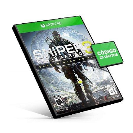 Sniper Ghost Warrior 3 Season Pass Edition - Xbox One - Código 25 Dígitos